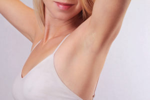 armpit, ideal smooth clear skin